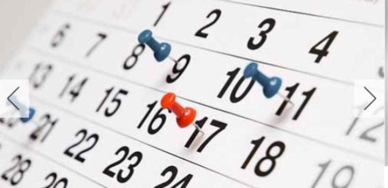 Calendario CAPER 18-19